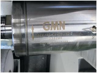 Reparatur einer GMN TSEV Spindel für einer Sondermaschinenbau